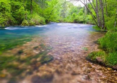Blue Springs ripples