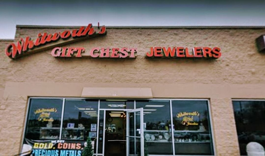 Whitworth's Gift Chest Jewelers