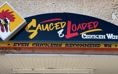 Sauced & Loaded wings
